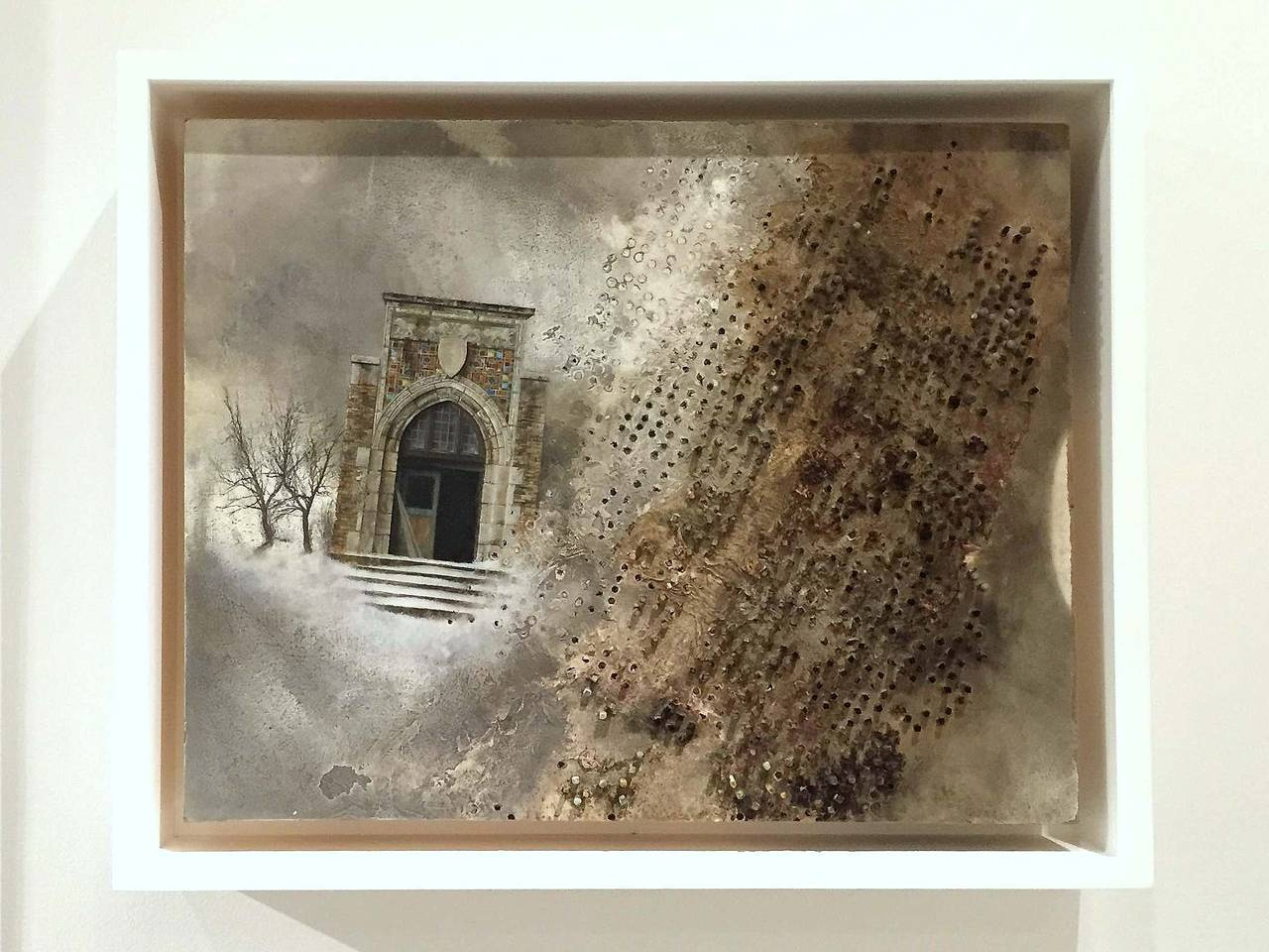 Eric lee 39 winter 39 painting for sale at 1stdibs for Eric mural painter
