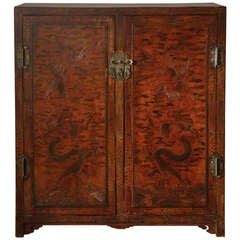 Mid-19th Century Chinese Two-Door Cabinet