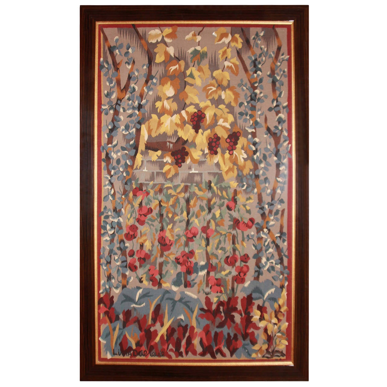 Harvest Aubusson Tapestry by Dubreuil