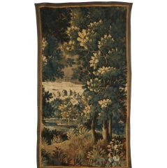 17th Century Verdure Tapestry Fragment
