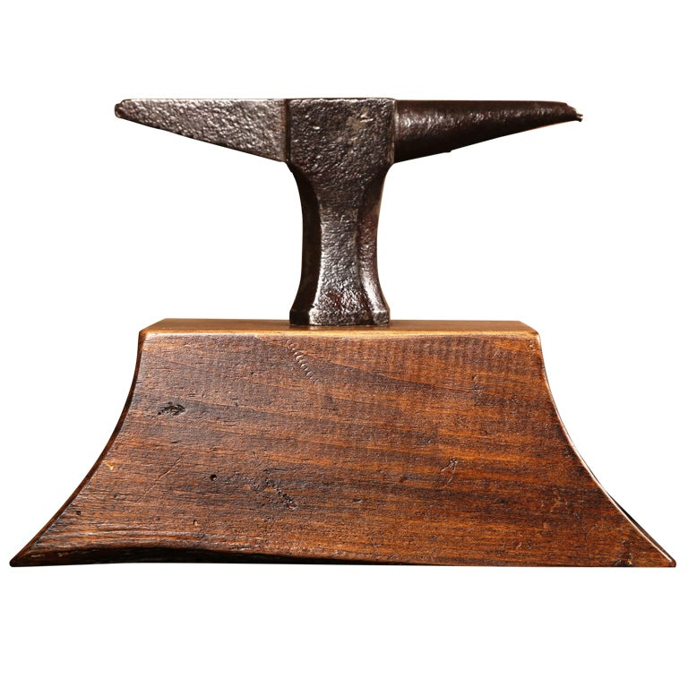 Vintage industrial small anvil at 1stdibs