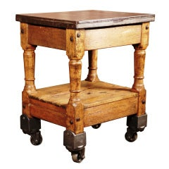Vintage Industrial, Turtle Table