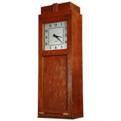 """Vintage Industrial, """"Standard"""" Time Keeping Clock"""