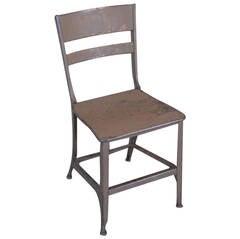Original, Vintage Industrial, Toledo Metal Dining Chair