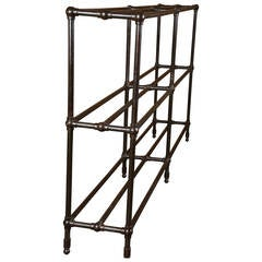 Vintage Industrial Pipe Shelving