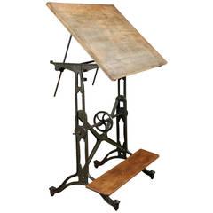 Vintage Adjustable Drafting Table