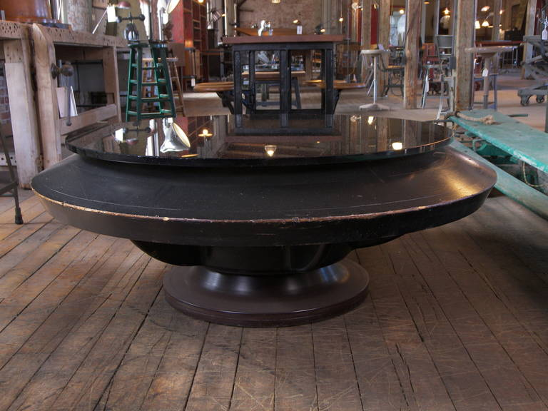 Industrial Factory Pattern Coffee Table For Sale