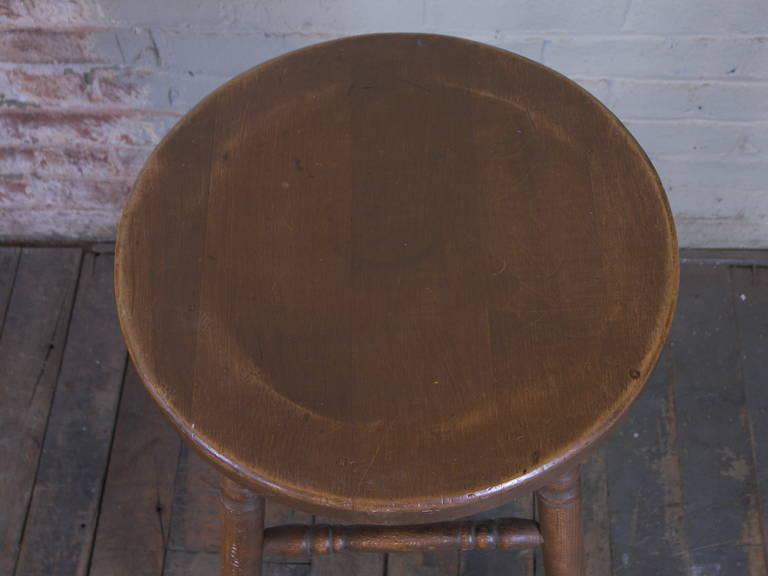 Vintage Wooden Bar Stool 3