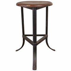 Original Vintage Industrial Laboratory Stools With