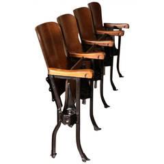 Original Vintage Theater Seats