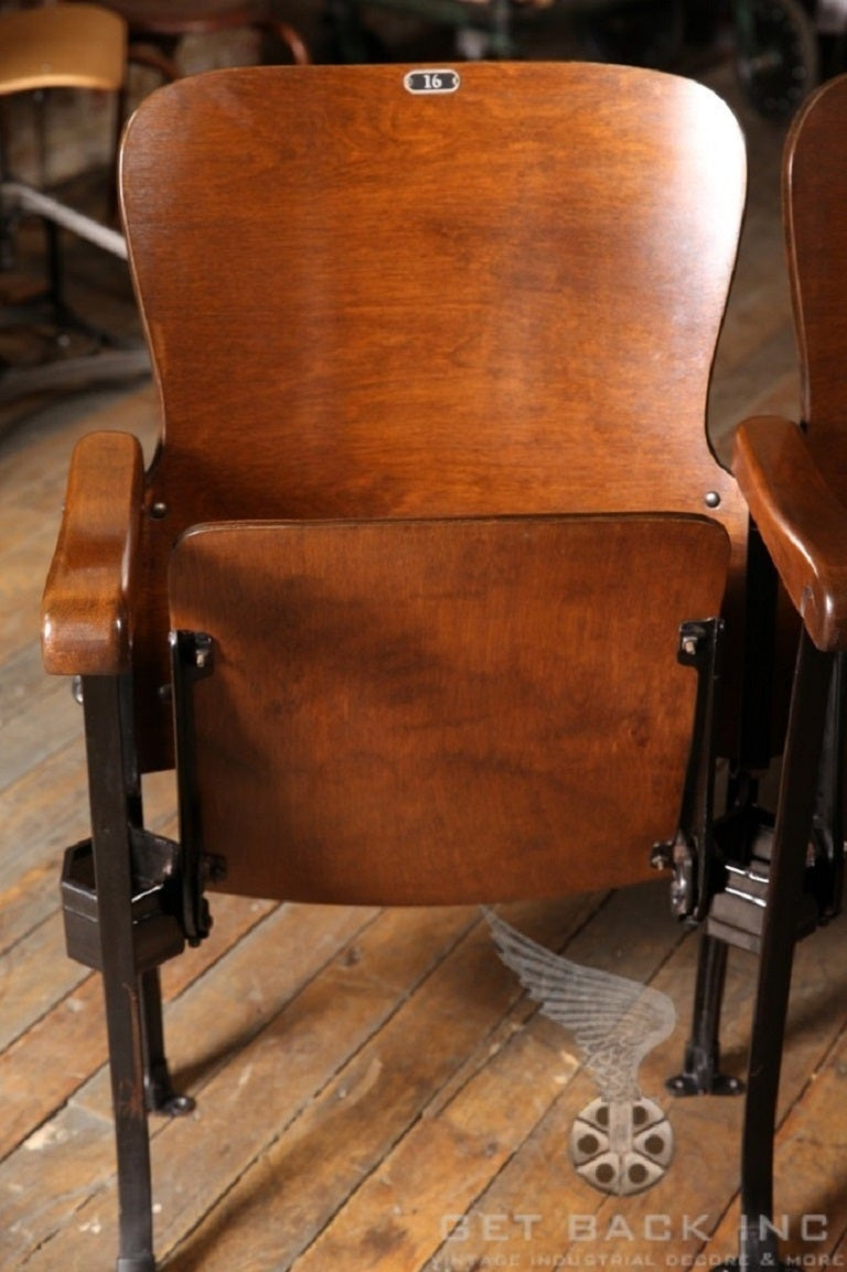 Original Vintage Theater Seats At 1stdibs