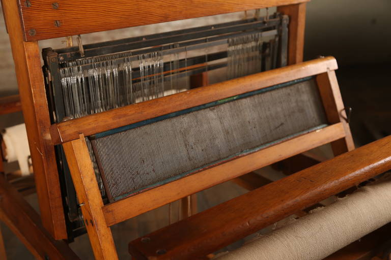 Vintage Wooden Loom For Sale At 1stdibs