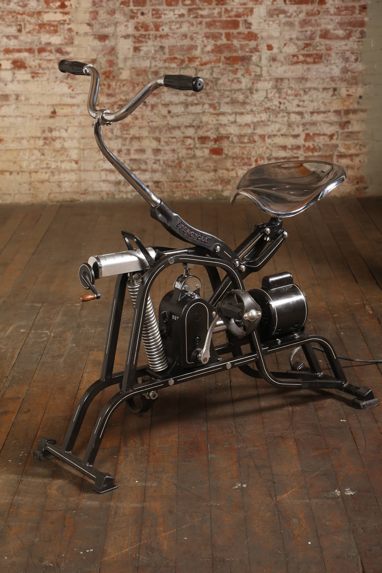 Vintage Exercycle Steel and Chrome Sports Exercise ...