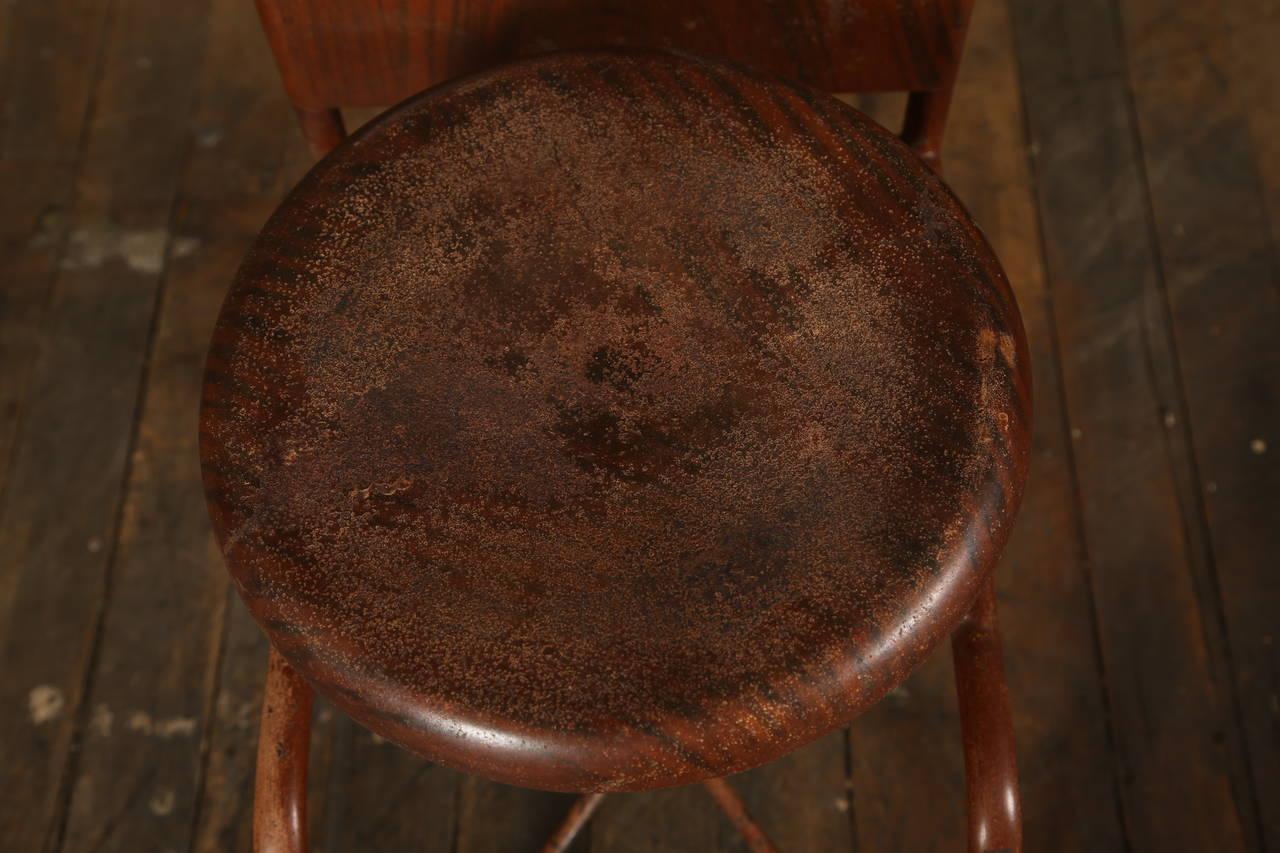 Original, Vintage Adjustable Medical Stool or Chair 9