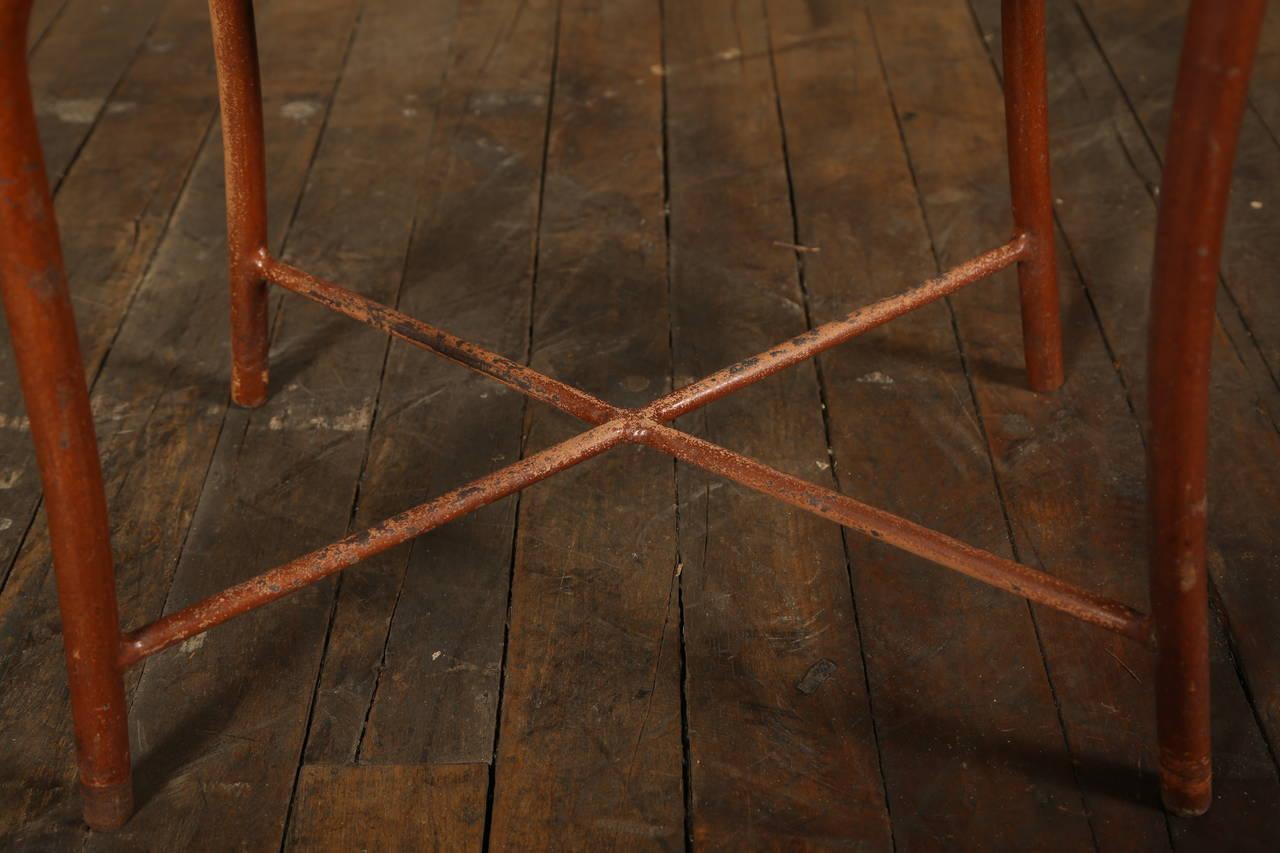 Original, Vintage Adjustable Medical Stool or Chair 10