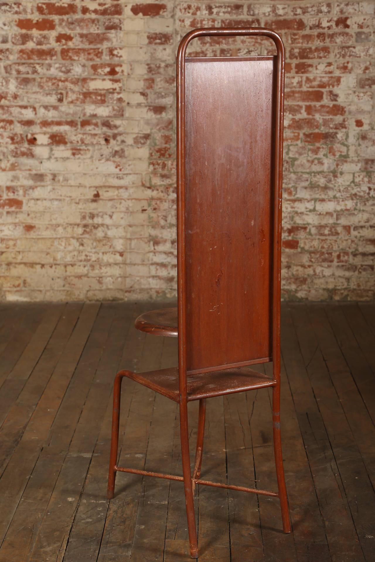 Original, Vintage Adjustable Medical Stool or Chair 6