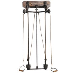 Antique, Weight Lifting Exercise Equipment by Spalding