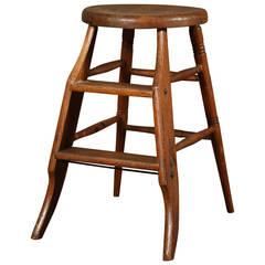 Original, Vintage Wooden Step Stool