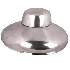 Vintage Polished Aluminum Hat Block Mold Pattern Shaping Tool