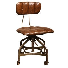 Vintage Industrial Adjustable Toledo Chair