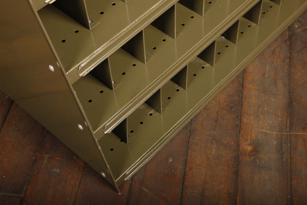 Vintage Industrial Factory Sorting Cabinet For Sale 3