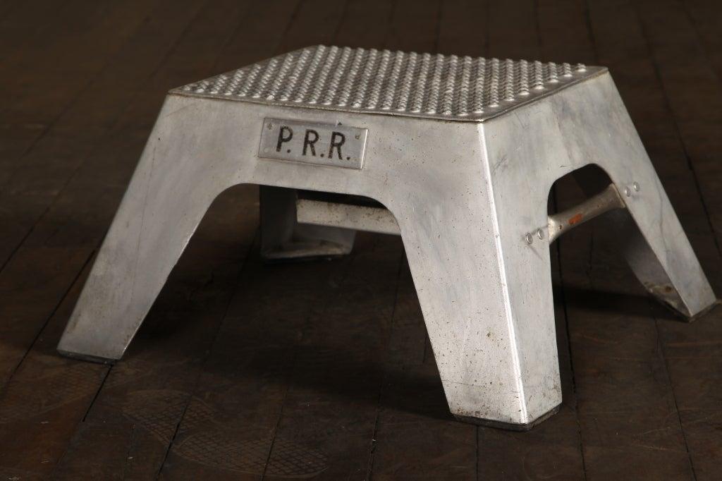 Original Vintage Industrial American Made Train Step