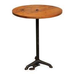 Original, Vintage Industrial, American Made, Bistro Table