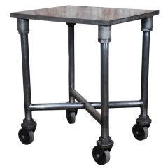Original, Vintage Industrial, American Made, Turtle Table