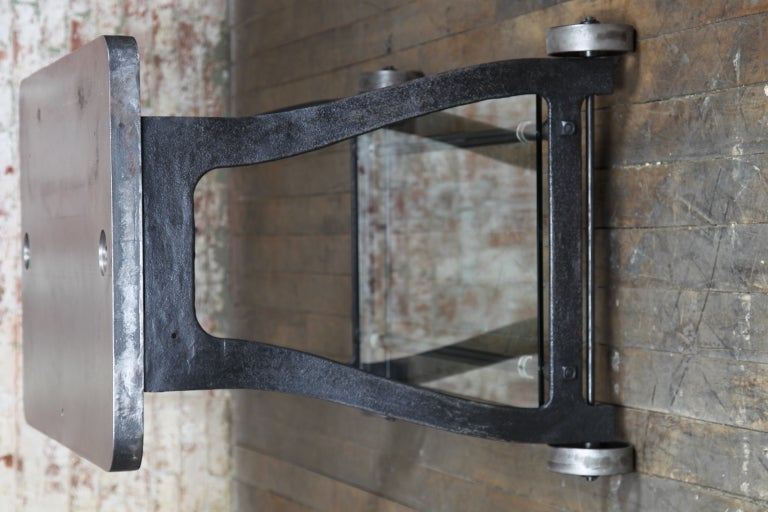 Original, Vintage Industrial, American Made, Console Table/Cart image 3