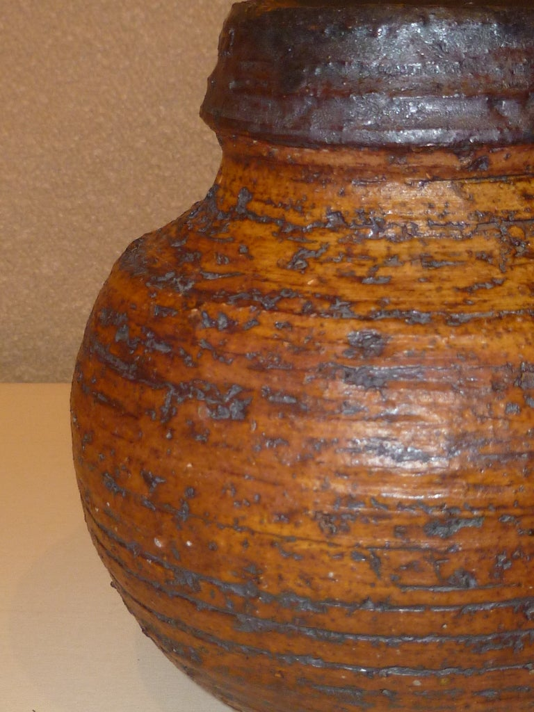 Mid-20th Century 1960s Auli Heinonen Chamotte Vases for Arabia For Sale