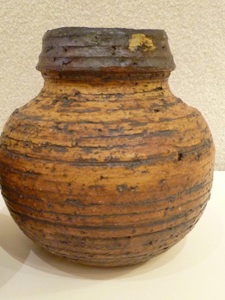 1960s Auli Heinonen Chamotte Vases for Arabia For Sale 2