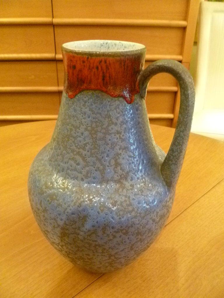 Large german u keramik selenium drip glaze ewer vase at 1stdibs large german u keramik selenium drip glaze ewer vase for sale 4 reviewsmspy