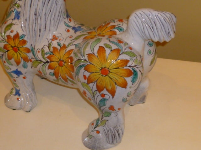 Magnificent Large and Fat Italian Horse Figure For Sale 1