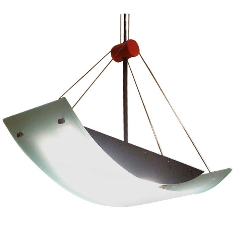 Fine robert sonneman memphis inspired suspension chandelier at 1stdibs - Spectacular modern pendant lighting fixtures as center of attention ...