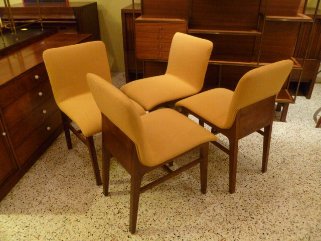 SIX Fine Modernist Kleinhans Style Dining Chairs at 1stdibs : 830113495554513 from www.1stdibs.com size 640 x 480 jpeg 78kB