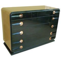 Donald Deskey Style Streamline Moderne Dresser