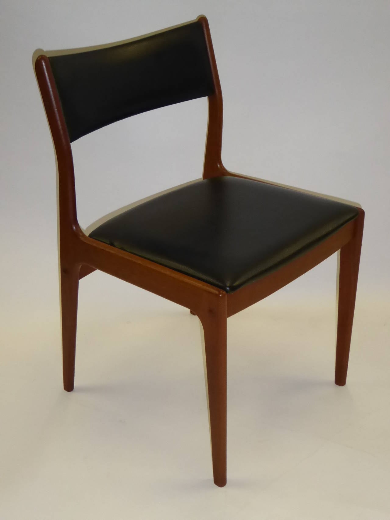 Dining Room Seat Cushions Johannes Andersen For Uldum Mobelfabrik Danish Teak Dining