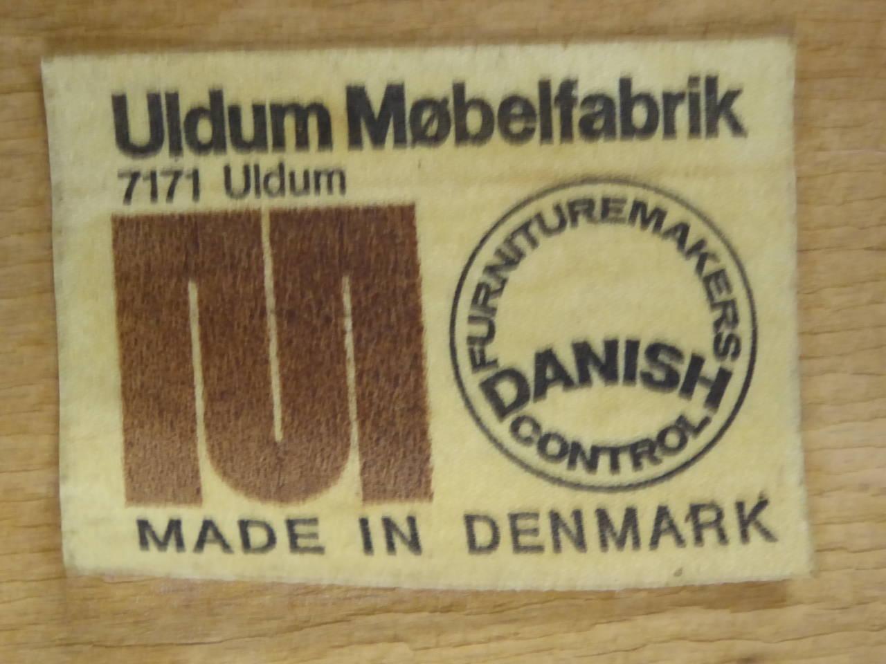 Johannes Andersen for Uldum Mobelfabrik Danish Teak Dining Chairs For Sale 3