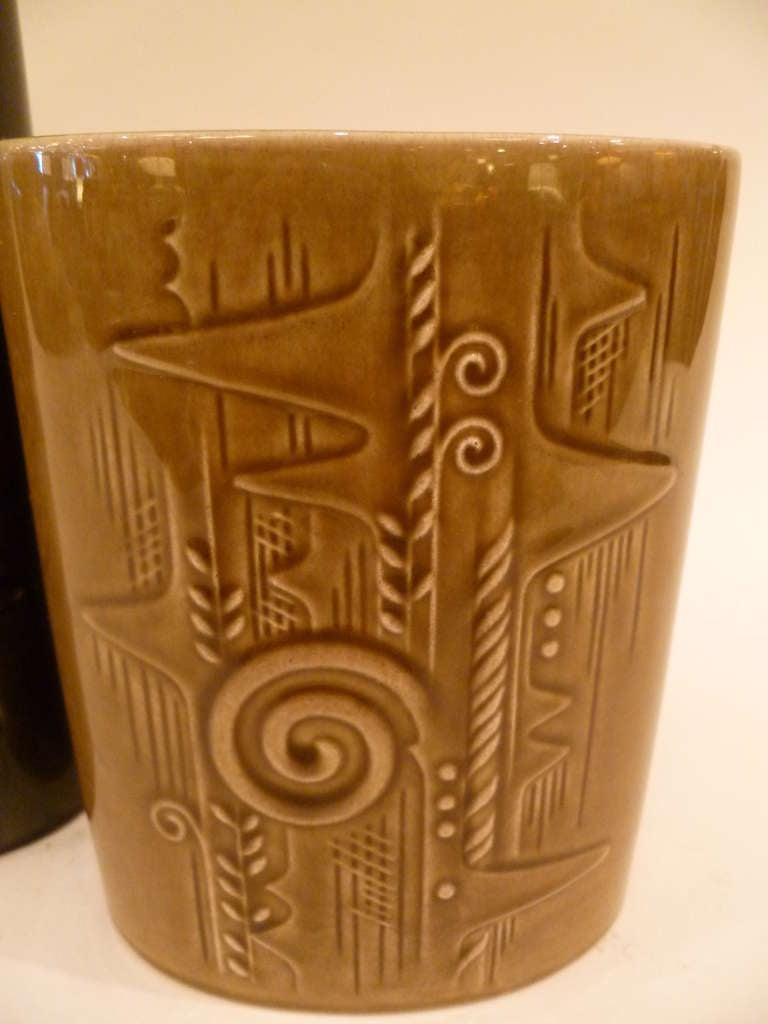 Olle Alberius 1960s Organic Lummer Vases for Rorstrand Sweden For Sale 1