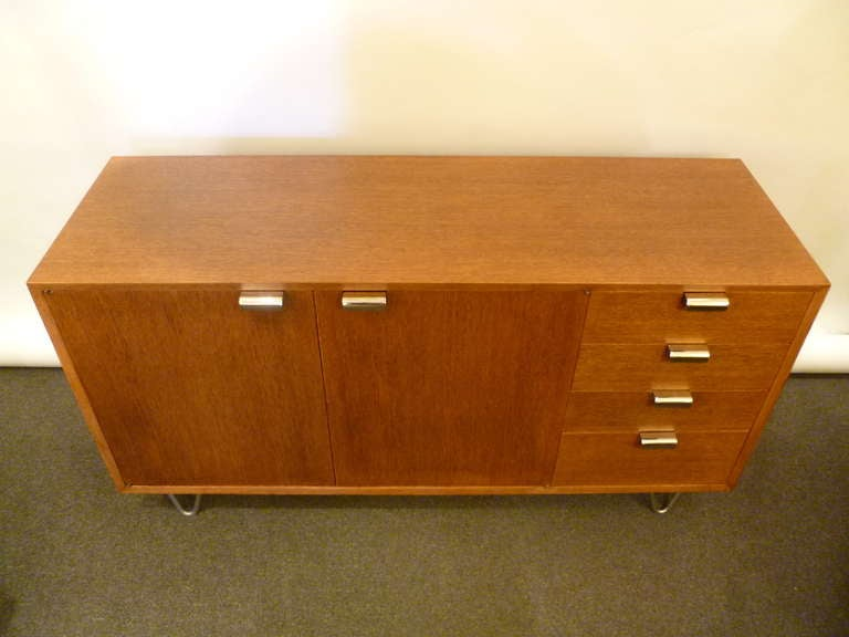 George Nelson Low Profile Credenza Sideboard for Herman Miller In Excellent Condition For Sale In Miami, FL