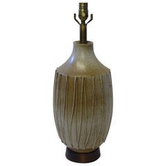 1960s David Cressey Pottery Table Lamp