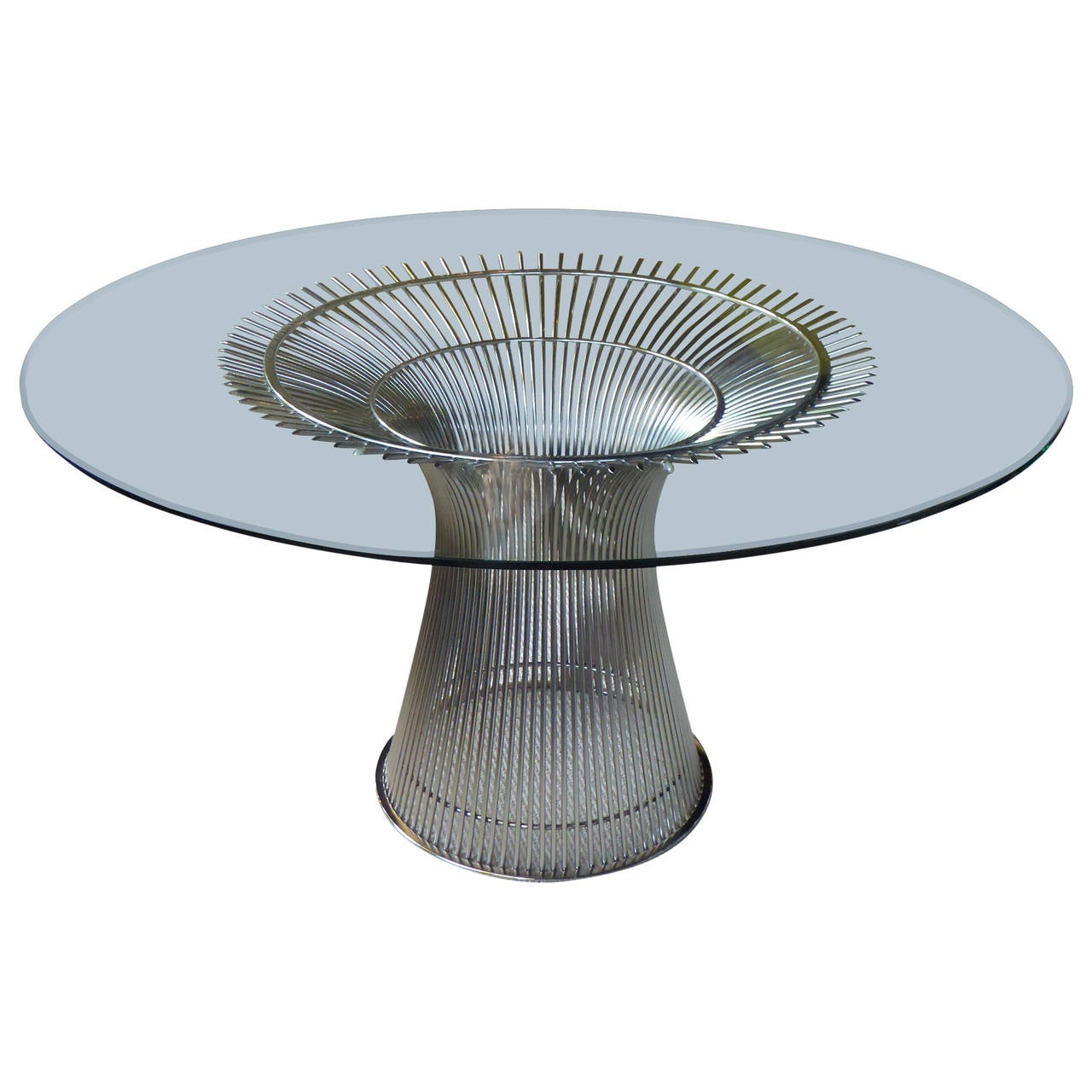 Warren Platner Dining Table 1966 Design for Knoll at 1stdibs : 3120272l from www.1stdibs.com size 1280 x 1280 jpeg 116kB
