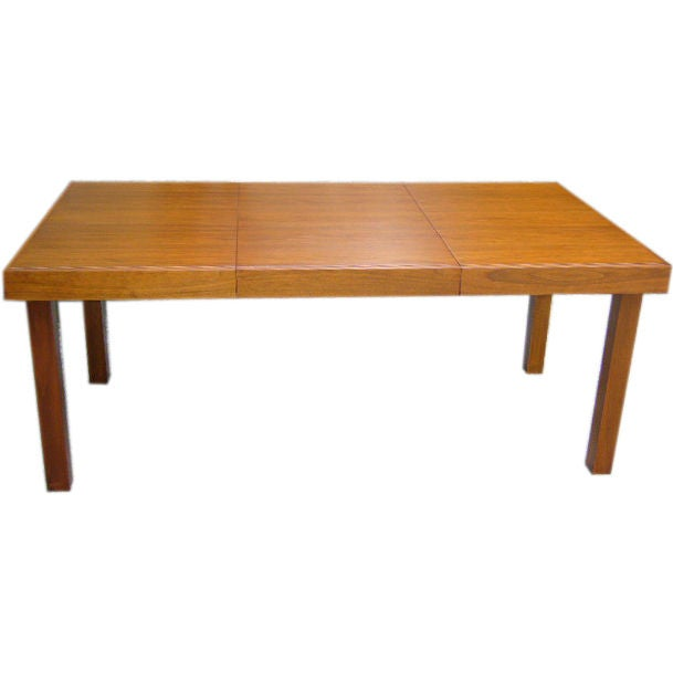 Classic Early George Nelson Walnut Dining Table