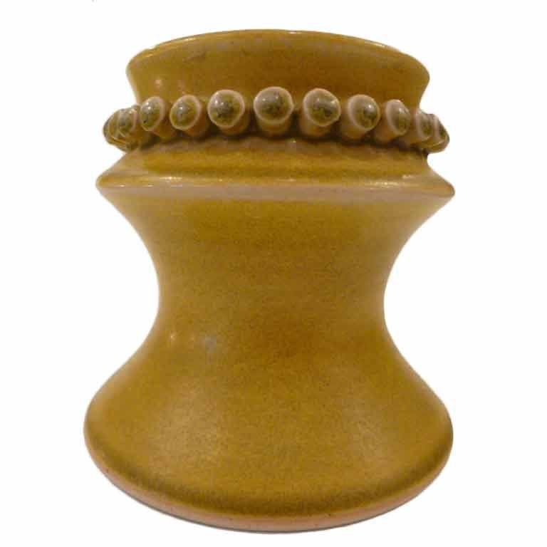 Fine Hertha Bengtson Stoneware Vase Hoganas Atelje, Sweden