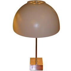 1960s Paul Mayen Large Domed Table Lamp for Habitat