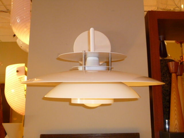 Modern Danish Tiered Wall Lights Laterna Danica In Excellent Condition For Sale In Miami, FL