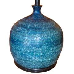 Fat Bitossi Orb Rimini Blu Table Lamp