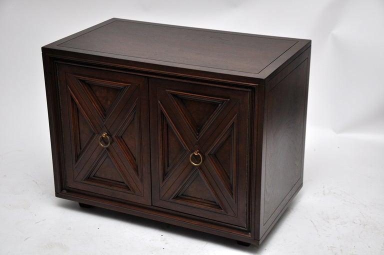 Pair Of Mastercraft Furniture Night Stands At 1stdibs