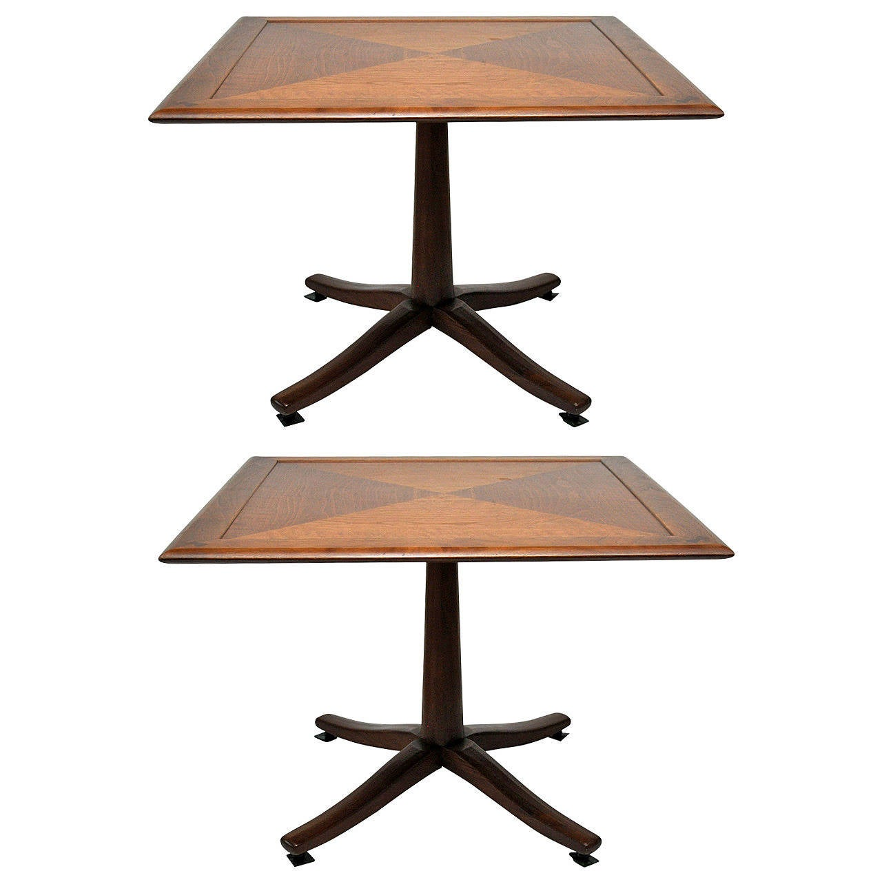 Pair of Midcentury Occasional Tables by Drexel Heritage Furniture