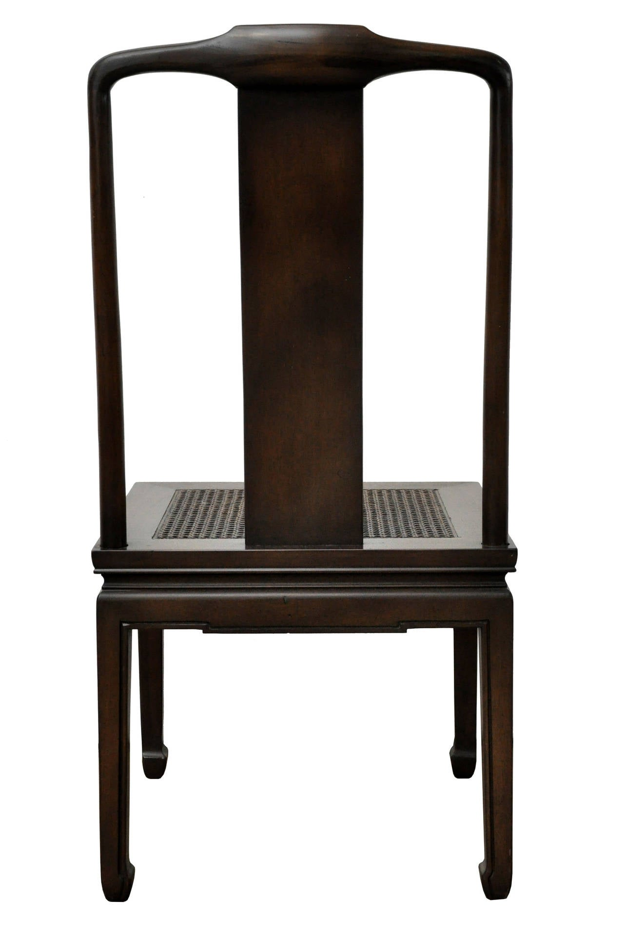 asian dining room chairs | Set of Six Henredon Asian Dining Chairs image 6